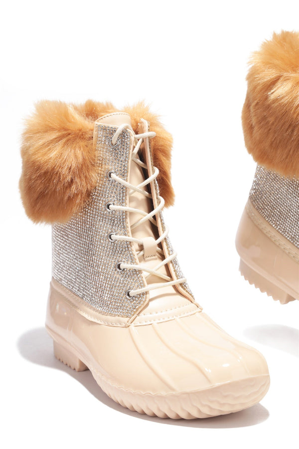 DIAMONTE HIGHER LIMITS BOOTIES-NUDE - FlashyBox