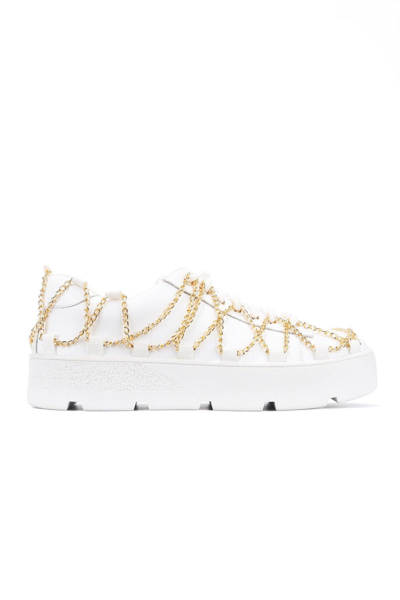 MISFIT LIVING MY DREAM SNEAKERS-WHITE - FlashyBox