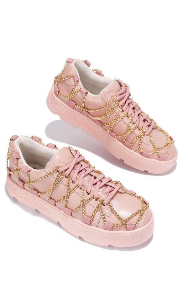 MISFIT LIVING MY DREAM SNEAKERS-BLUSH - FlashyBox