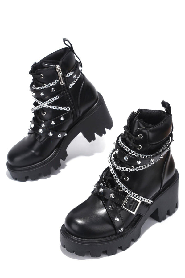 STARGATE QUICK REACTION COMBAT BOOTS-BLACK