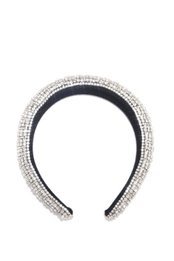 ROYAL HIGHNESS HEADBAND-SILVER