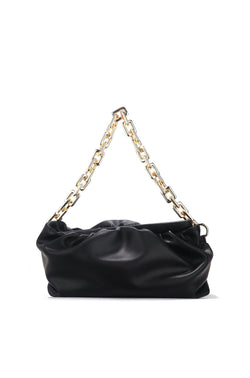 JAGGER EXPENSIVE TASTE CHAIIN BAG-BLACK