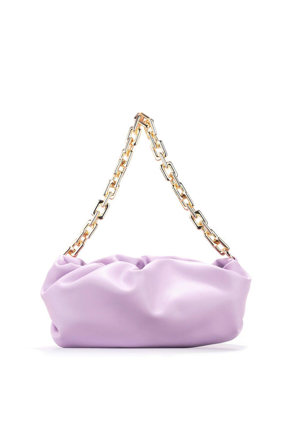 JAGGER EXPENSIVE TASTE CHAIIN BAG-PURPLE