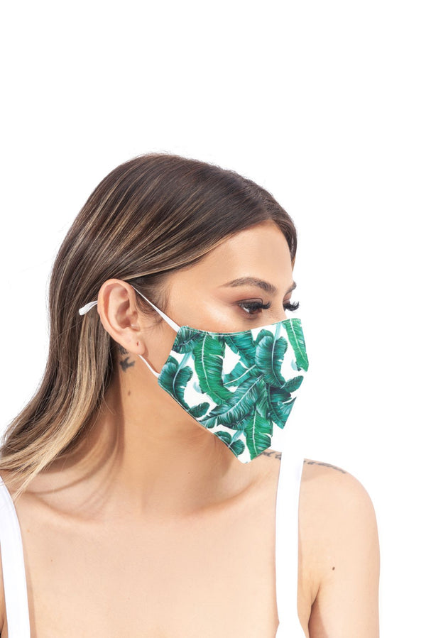 KRISTINA FACE MASK-GREEN - FlashyBox