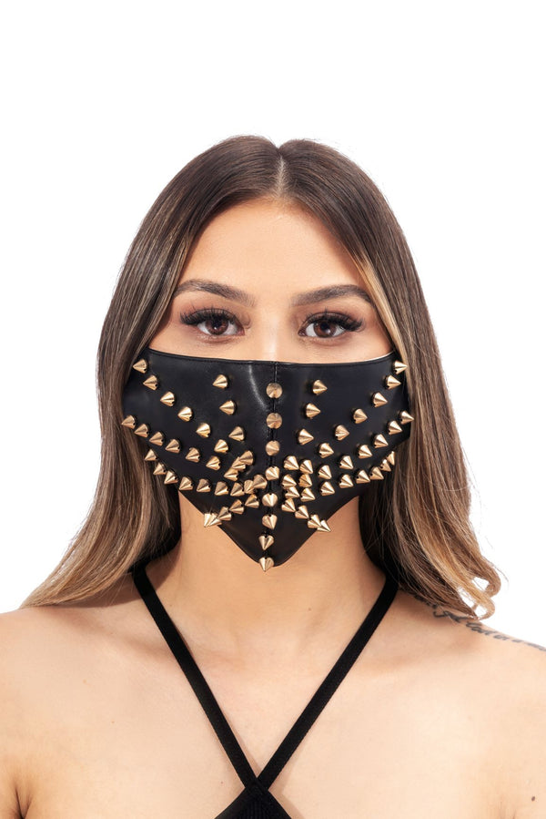 KASH FACE MASK-BLACK - FlashyBox