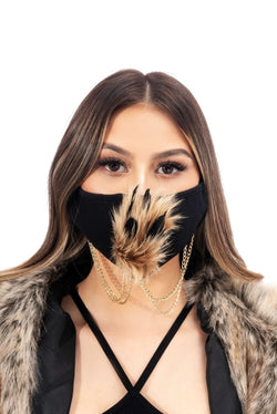 LENNOX FACE MASK-BLACK - FlashyBox