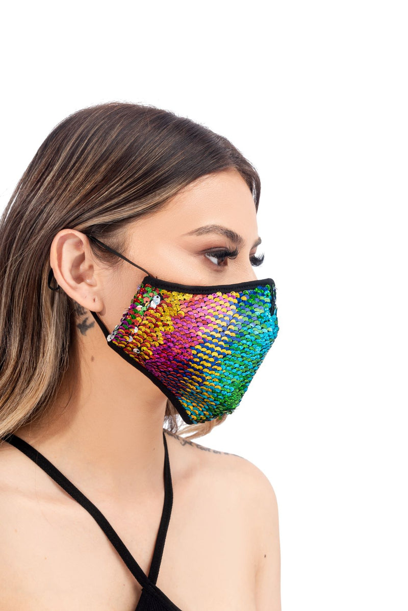ANNISA FACE MASK-MULTI COLOR - FlashyBox