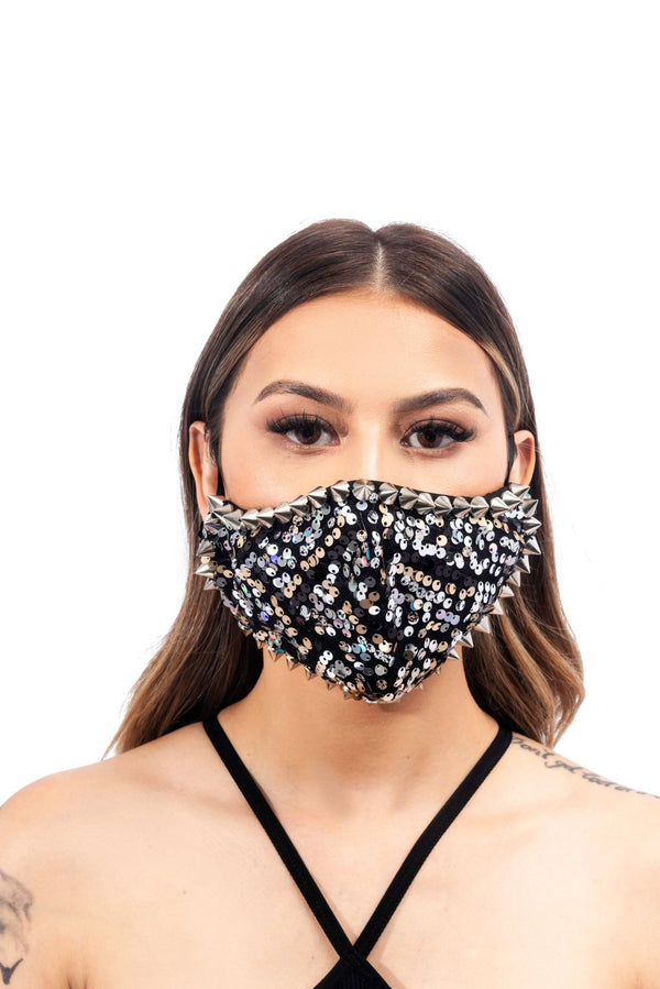 AGGIE FACE MASK-BLACK - FlashyBox