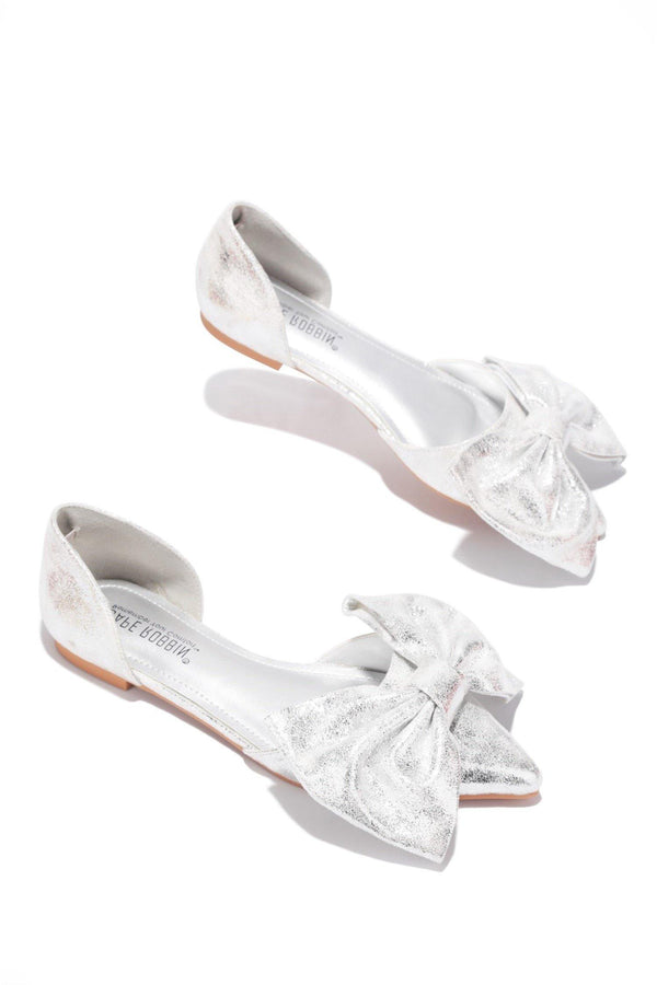 TWIT NOT YOUR EVERYDAY FLATS-SILVER