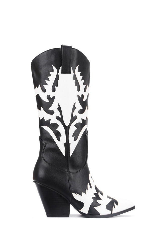 KEZIA BRING IT ON WESTERN BOOTS-BLACK