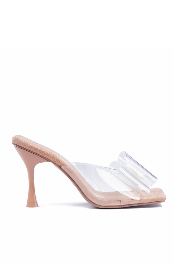 YIPPY STOP THE SHOW STILETTO SANDAL-NUDE