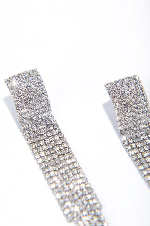 HIGH LIVING EARRINGS-SILVER