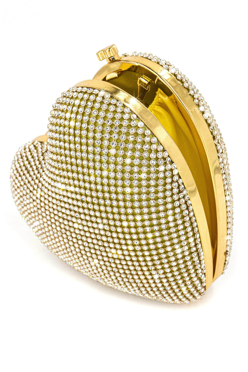 Mi Corazon Bag - Gold