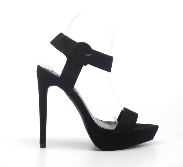 Cape Robbin Cape Robbin | Way Out Stiletto High Heel Adjustable Buckle Sandals Heels - Flashybox.com