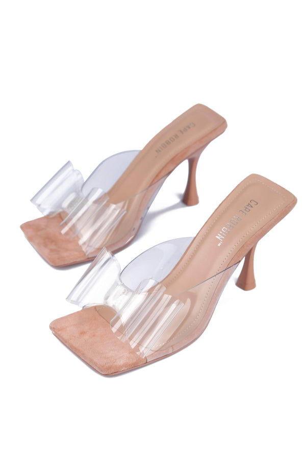 Cape Robbin YIPPY STOP THE SHOW STILETTO SANDAL-NUDE HEELS | flashybox.myshopify.com