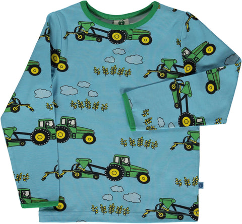 Blue Grotto Tractor Shirt