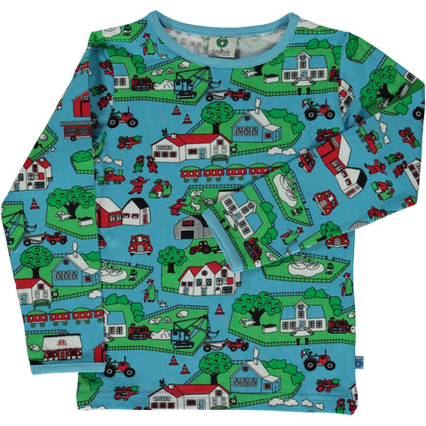 Blue Grotto Landscape Shirt