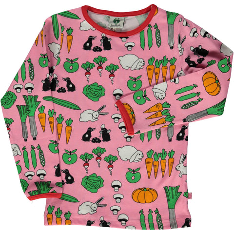 Pink Vegetables Shirt