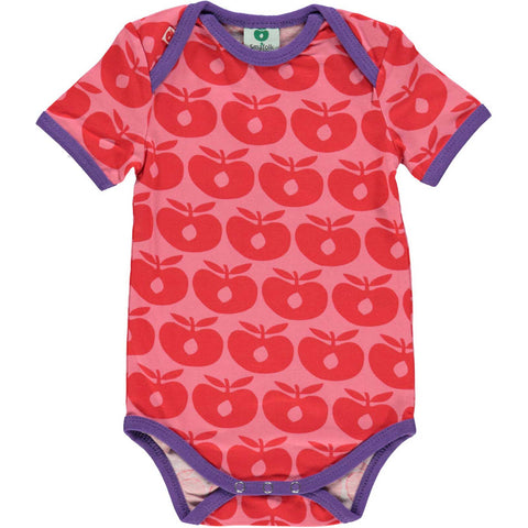 Retro Apple Short Sleeve Onesie