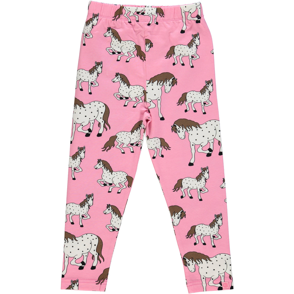 Pink Horse Leggings
