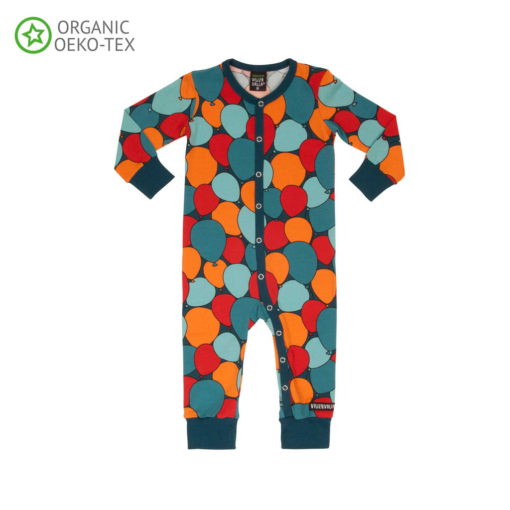 Dark Sea Balloons Romper