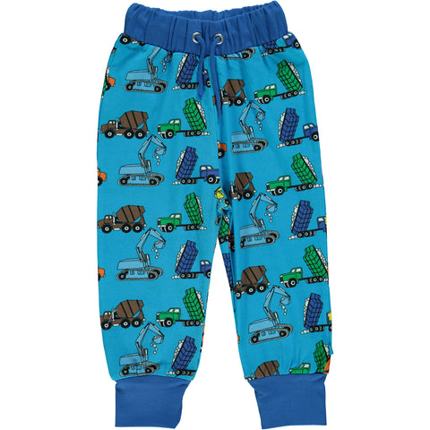 Blue Machine Pants