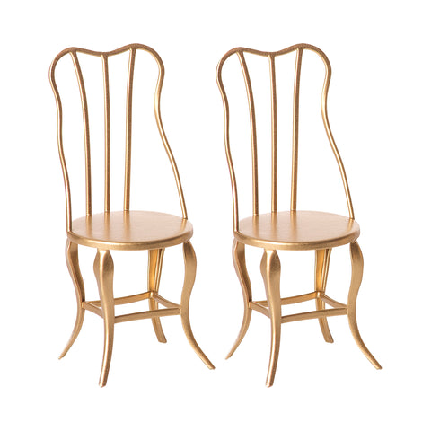 Gold Vintage Chairs, Micro