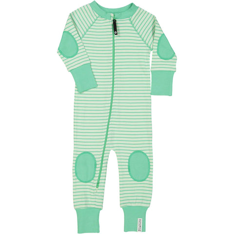 Mint Green Zip Pajamas