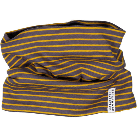 Navy Striped Tube Scarf