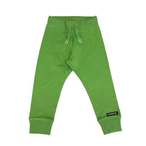 Green Relaxed Joggers Sweatpants