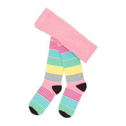 Pastel Stripe Tights