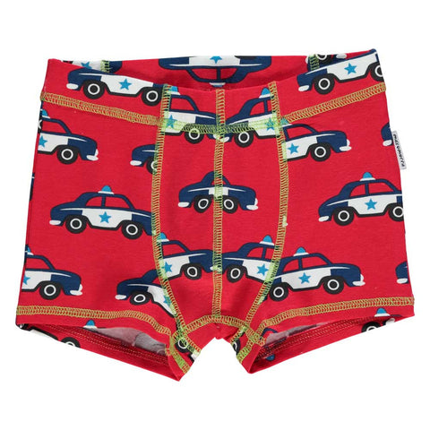 Police Car Boxer Shorts