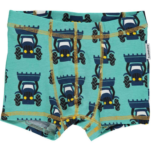 Blue Tractor Boxers