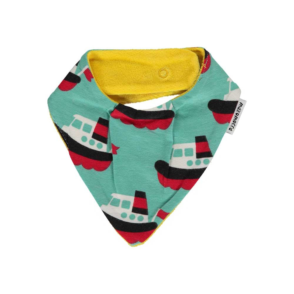 Sailboat Drool Scarf