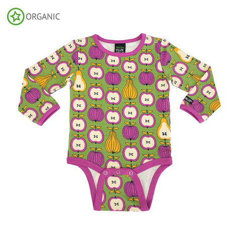 Green Garden Fruit Onesie