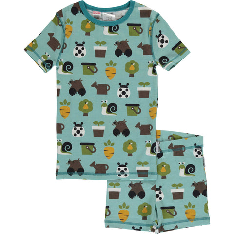 Garden Short Sleeve Pajamas
