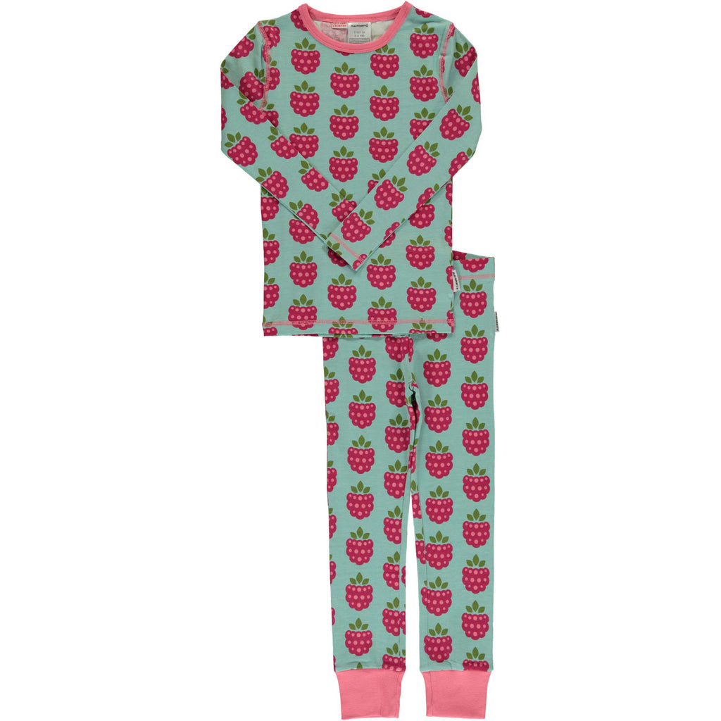 Pink Raspberry Long Sleeve Pajamas