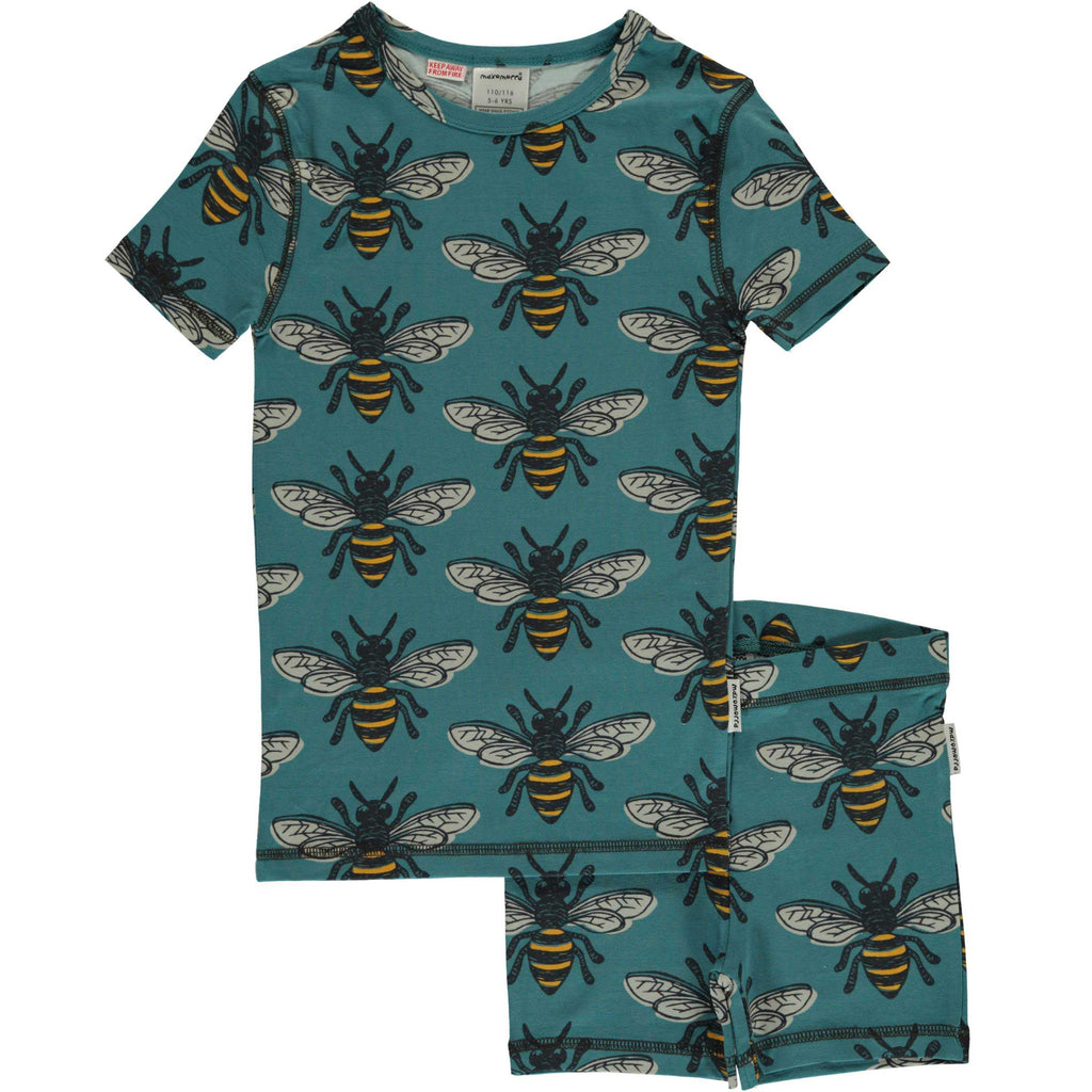 Bee Short Sleeve Pajamas