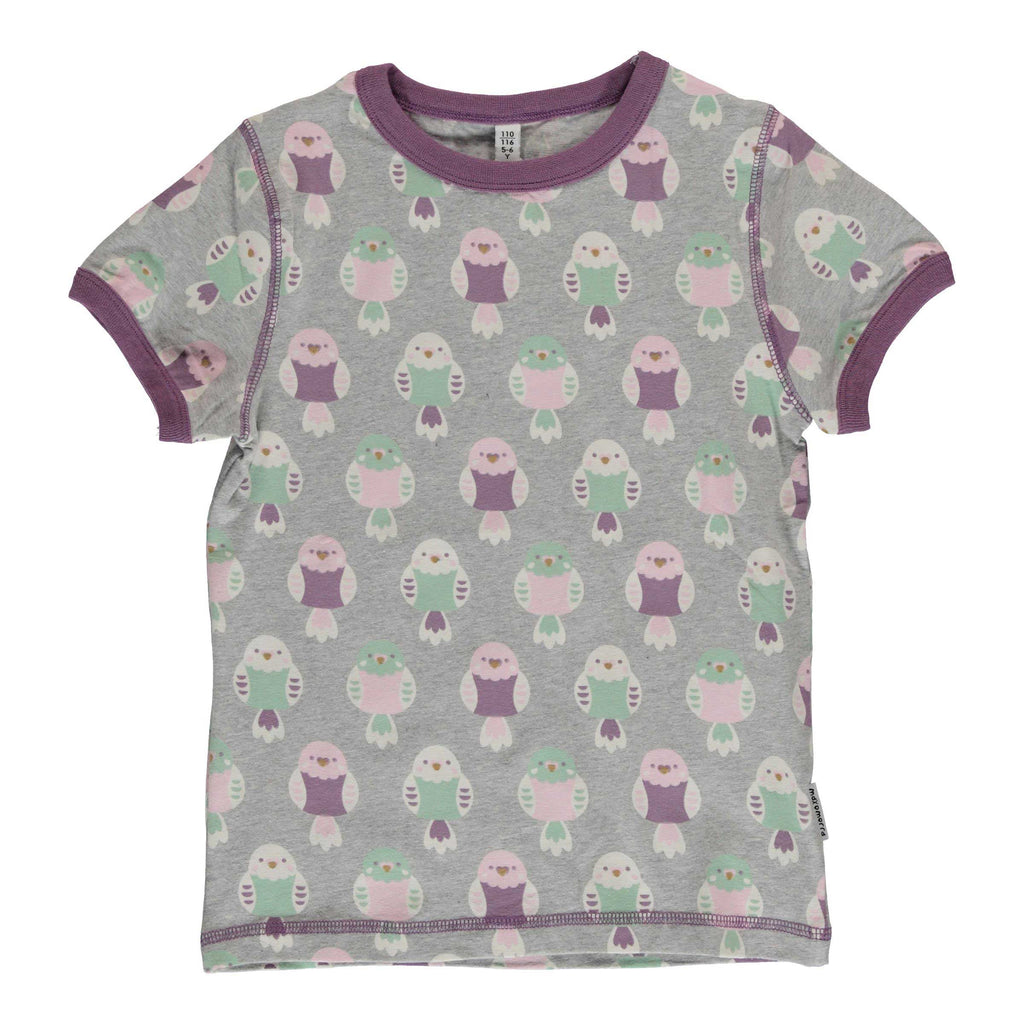 Purple Budgie T-Shirt