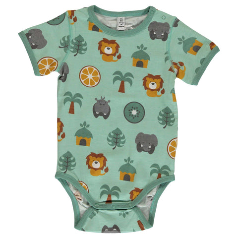 Jungle Short Sleeve Onesie