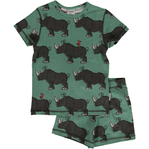 Rhino Short Sleeve Pajamas