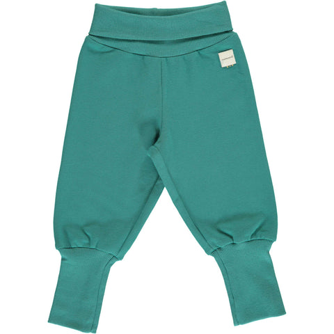 Teal Rib Baby Bottoms