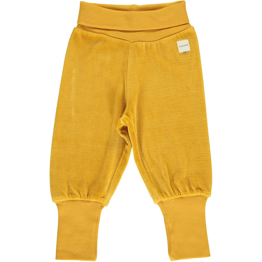 Ochre Velour Bottoms