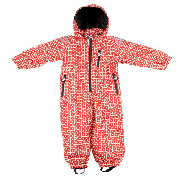 Funky Red Rain Suit