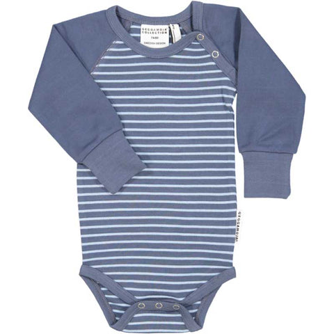 Soft Blue Stripe Onesie