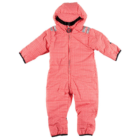Funky Red Baby Snow Suit