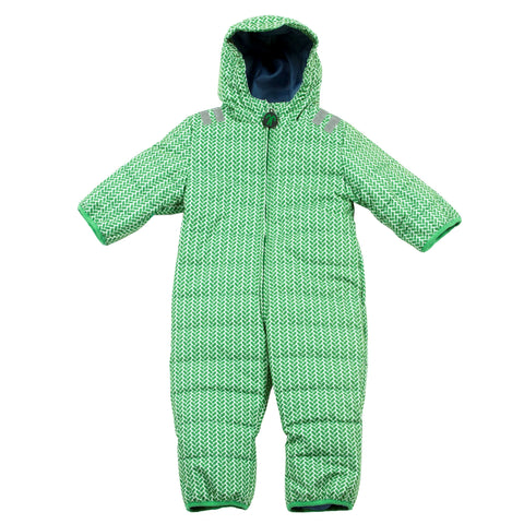 Lex Green Baby Snow Suit