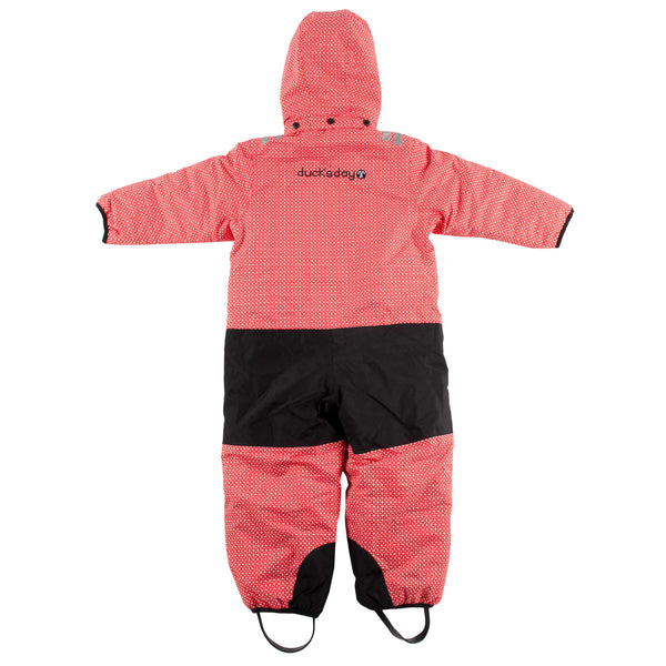 Funky Red Kids Snow Suit