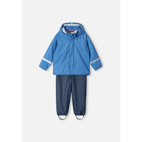 Tihku Two Piece Blue Rain Suit