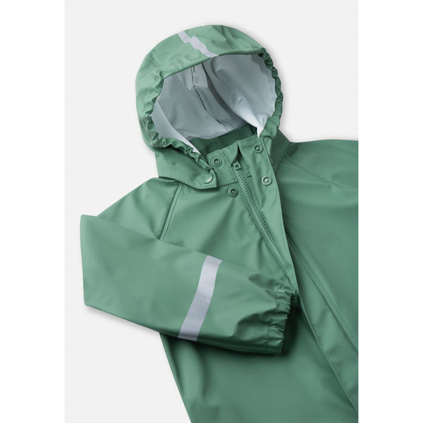 Tihku Two Piece Green Rain Suit